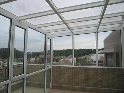 阳光房玻璃顶棚