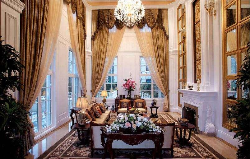 别墅客厅高窗万博manbetx安卓版