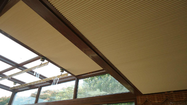 阳光房蜂巢帘