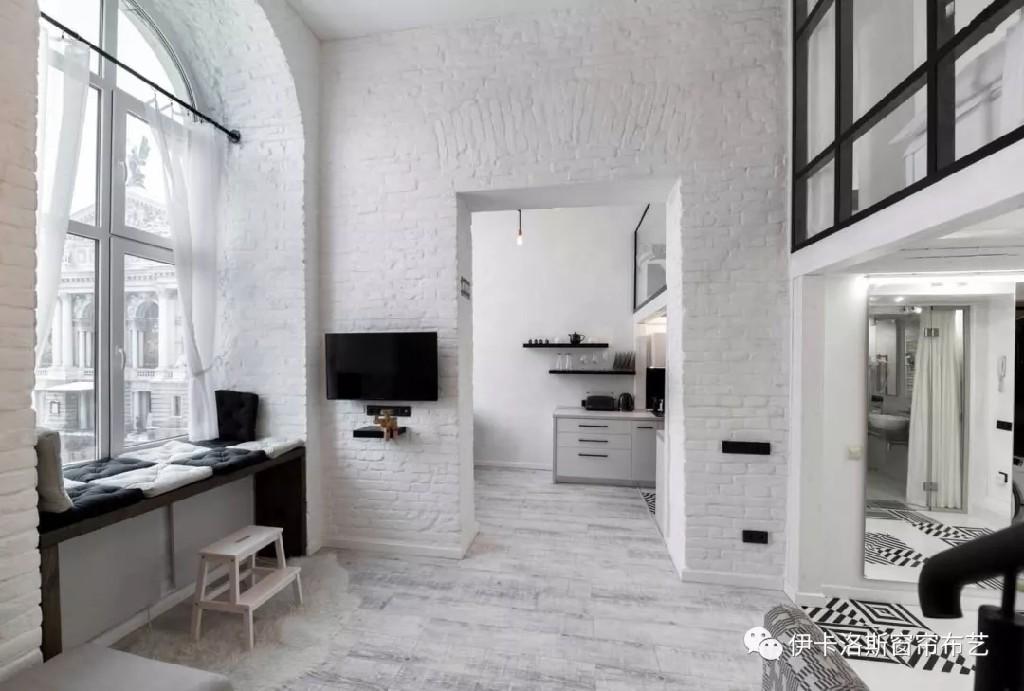 家居设计 | 极简白 LOFT