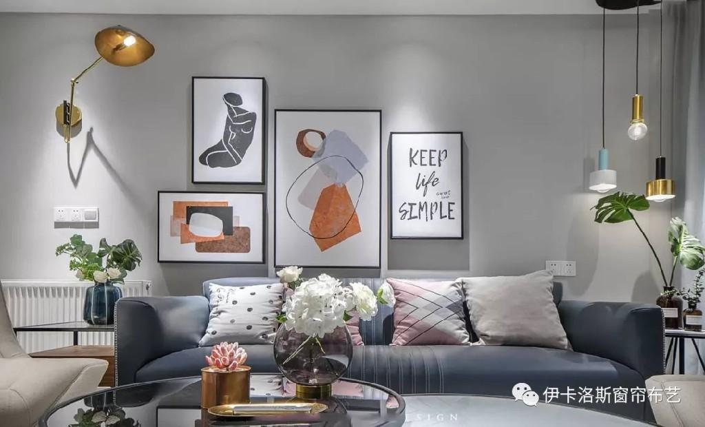 复古轻奢风,低调与奢华并存,让你的家充满格调!