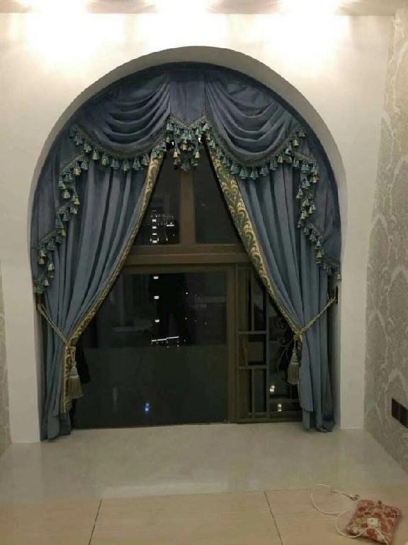 欧式窗帘如何选择设计定制?