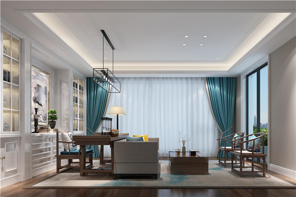 新中式卧室窗帘怎么选择?中式窗帘搭配注意事项