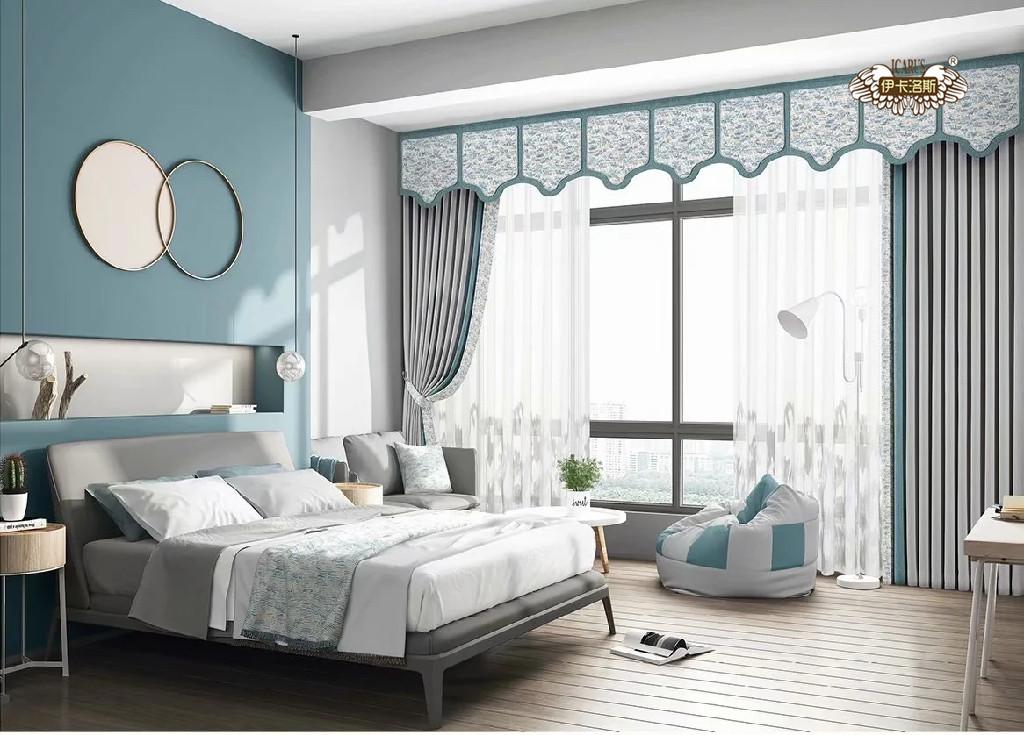 卧室窗帘的最佳颜色,什么窗帘适合在卧室用?