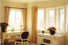 飘窗一般与哪种窗帘搭配?