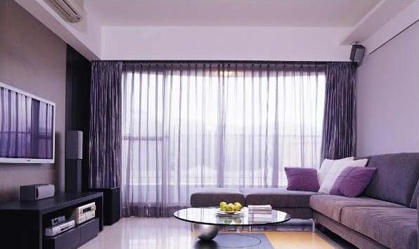 客厅窗帘定做厂家
