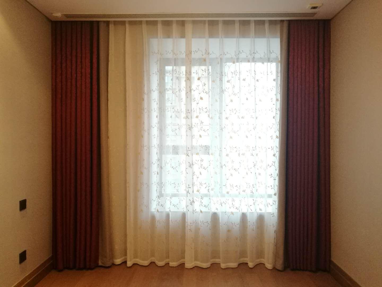 伊卡洛斯虹口窗帘安装案例