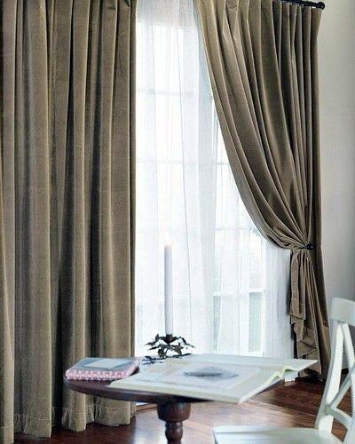 高级窗帘的样式应该是什么样的?