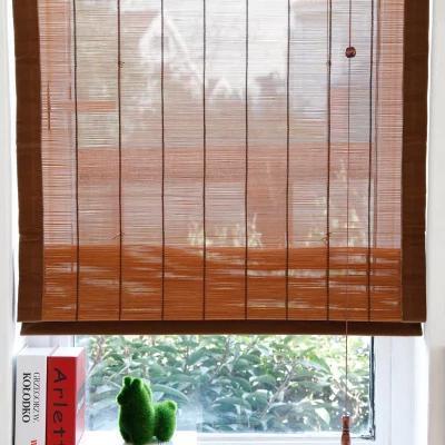夏季必备——竹帘窗帘