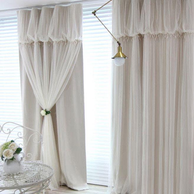 客厅窗帘要选什么样式的?