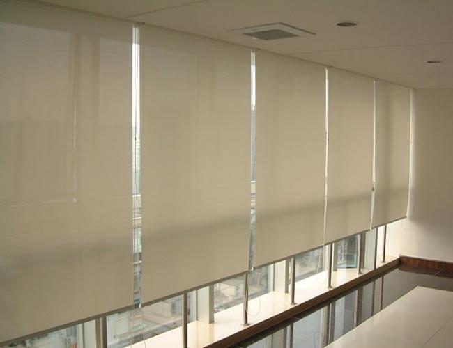 办公室卷帘窗帘有什么面料?卷帘窗帘有什么款式?