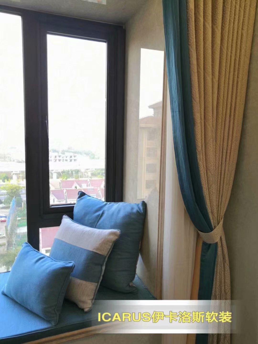 飘窗窗帘怎么挂好看?飘窗窗帘效果图展示