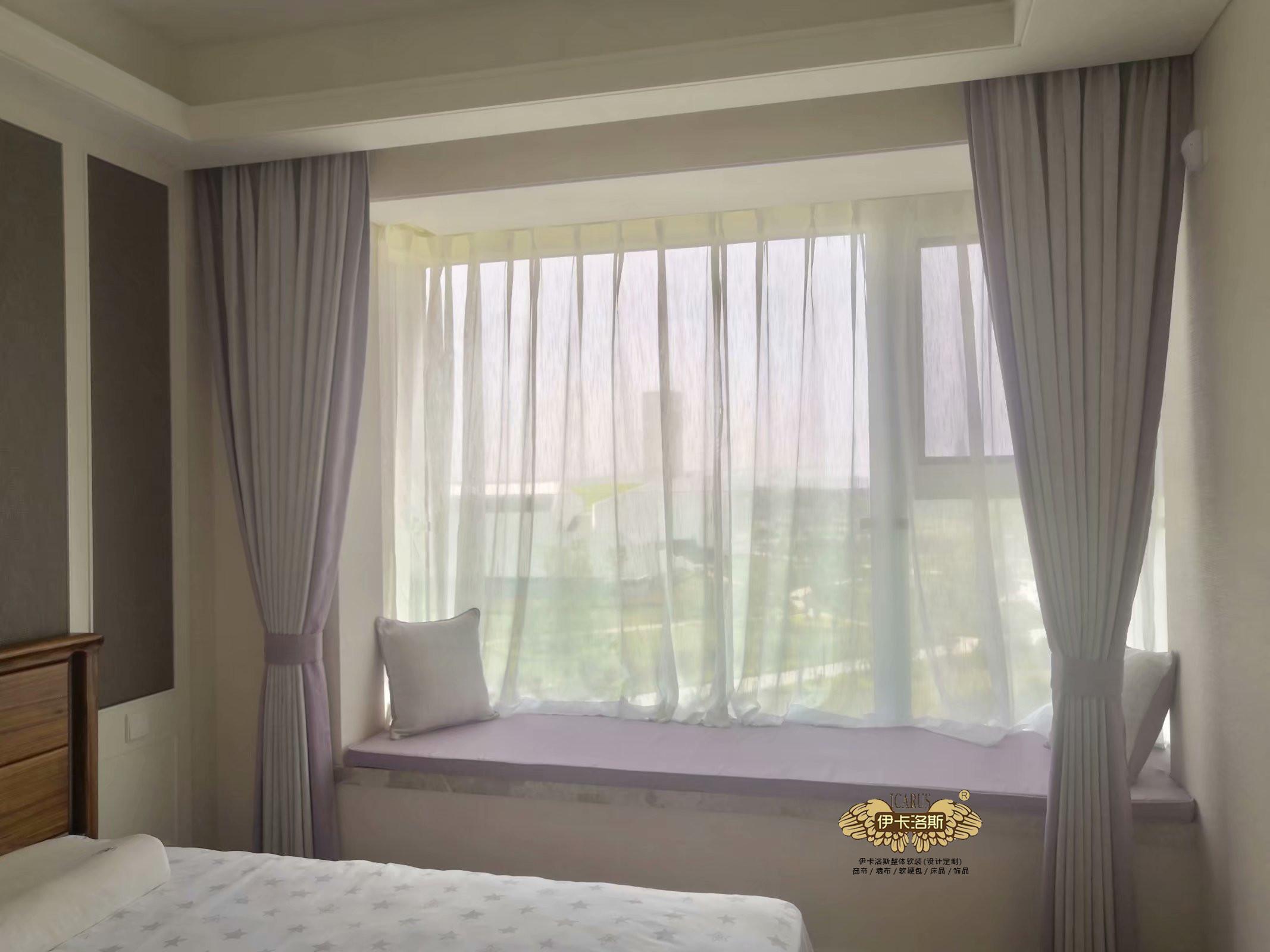 飘窗窗帘如何选择?飘窗窗帘特点大汇总