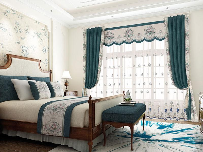 5款经典别墅窗帘设计,让你的别墅更上一个档次
