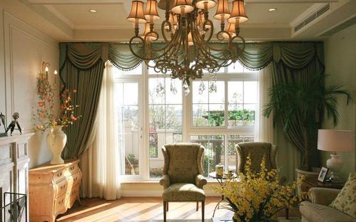 美式别墅窗帘如何搭配?美式别墅窗帘细节