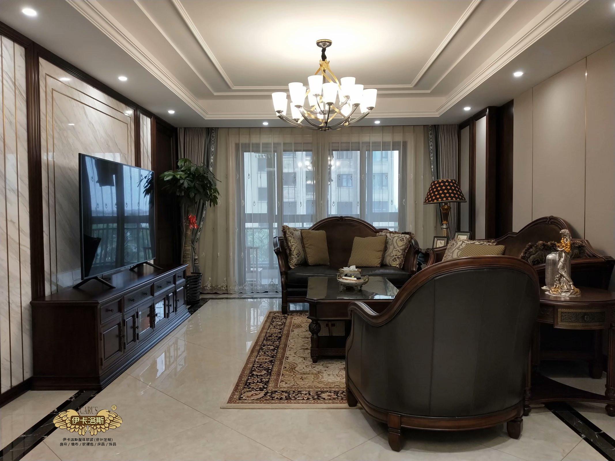 别墅窗帘款式效果你喜欢哪种?别墅窗帘装饰效果图