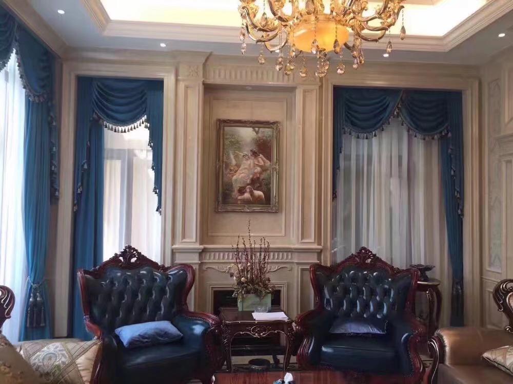 客厅窗帘什么布料好?【伊卡洛斯软装】