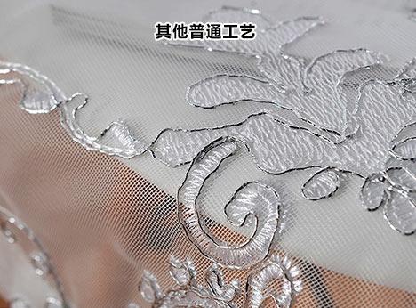 普通的窗帘在制作过程中剪裁不到位 易出现多余线头 难看褶皱