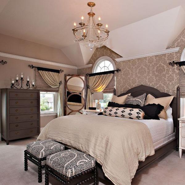 高档欧式风格卧室窗帘