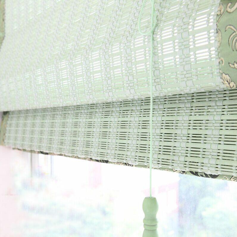 竹窗帘系列(淡雅绿)