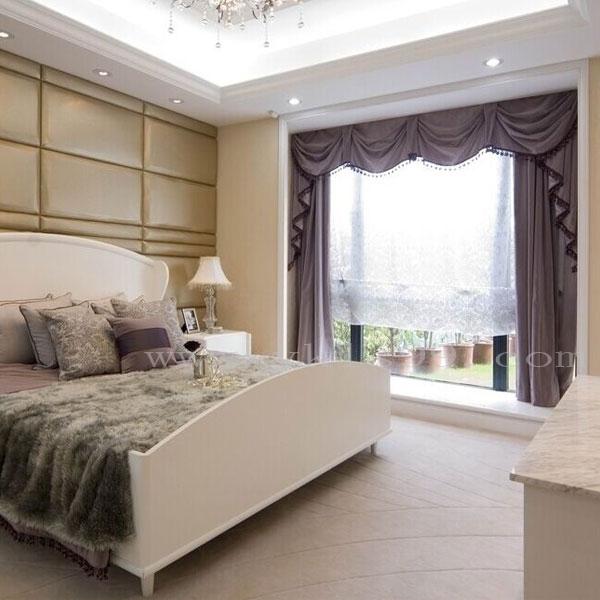 新古典风格卧室高精密窗帘