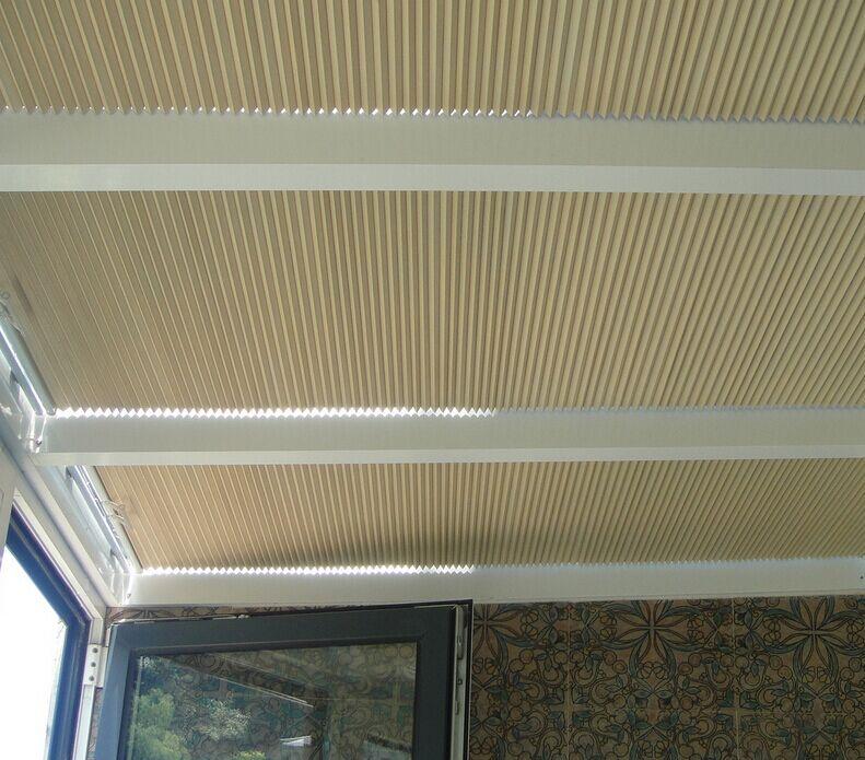 阳光房蜂巢窗帘