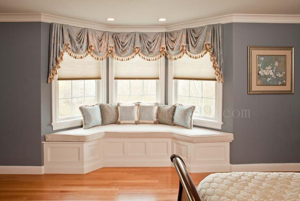 飘窗窗帘(客厅阳台)