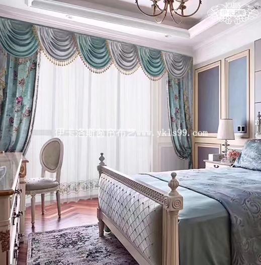 优雅欧式卧室窗帘