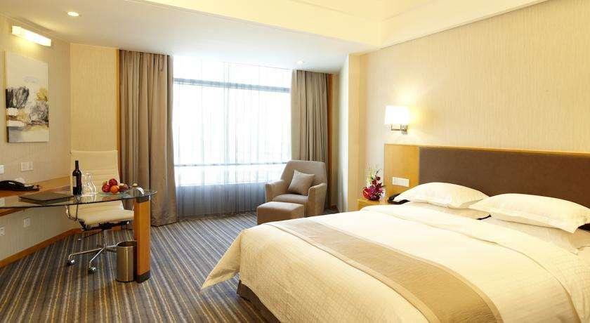 「酒店窗帘定制」-上海华美达酒店窗帘定做案例