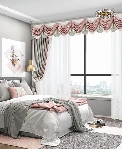 窗帘布现代简约北欧加厚遮光窗帘定做