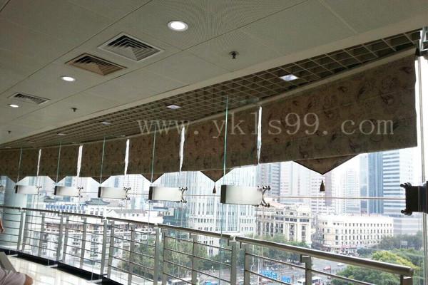 上海城市规划展览馆窗帘工程案例