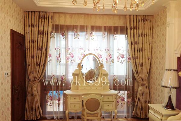 上海毕加索别墅窗帘工程案例