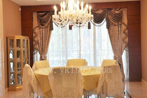 上海金地天御窗帘工程案例