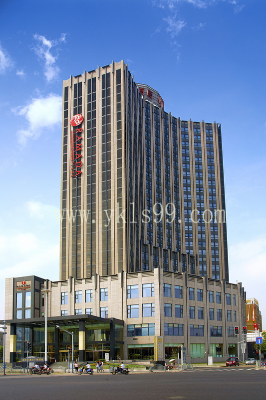 上海华美达酒店窗帘工程案例